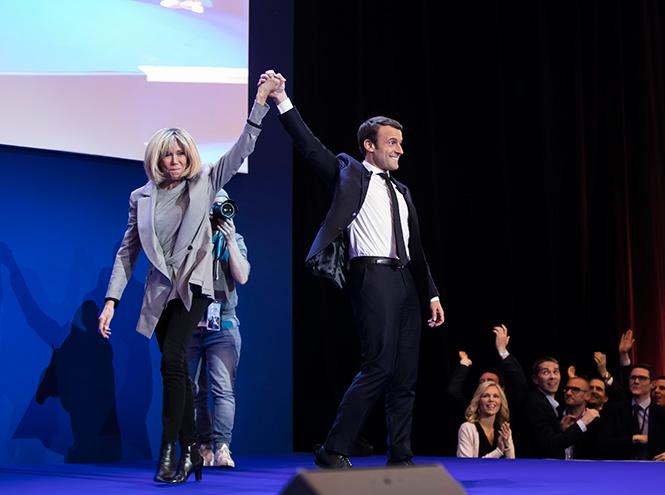 Фото №4 - Брижит Макрон: женщина, стоящая за президентом Франции