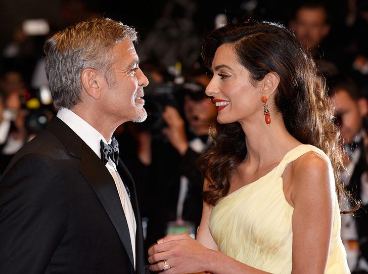 Фото №1 - Амаль Клуни родила двойню