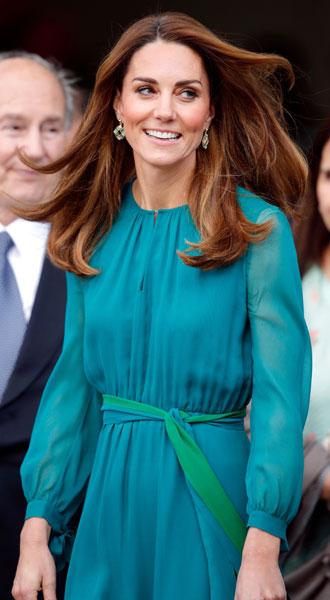 Фото №18 - Лучшие образы герцогини Кейт в 2019 году