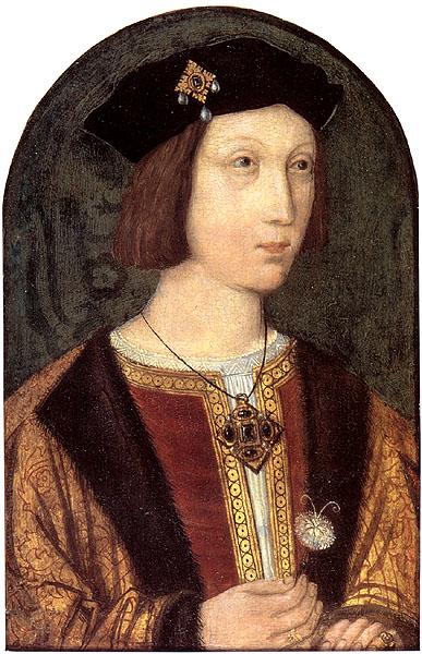 Старший брат короля Генриха VIII и наследник английского престола принц Артур, умерший, вероятно, от «английского пота» в возрасте 15 лет