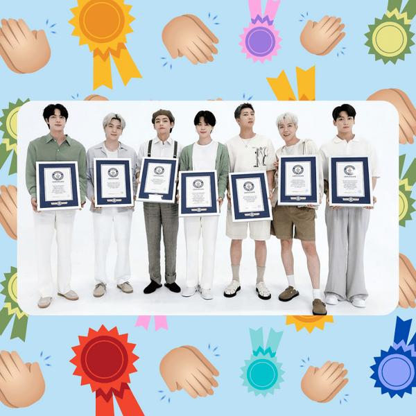 Фото №1 - Вау! BTS вошли в Зал славы Книги рекордов Гиннеса 😱