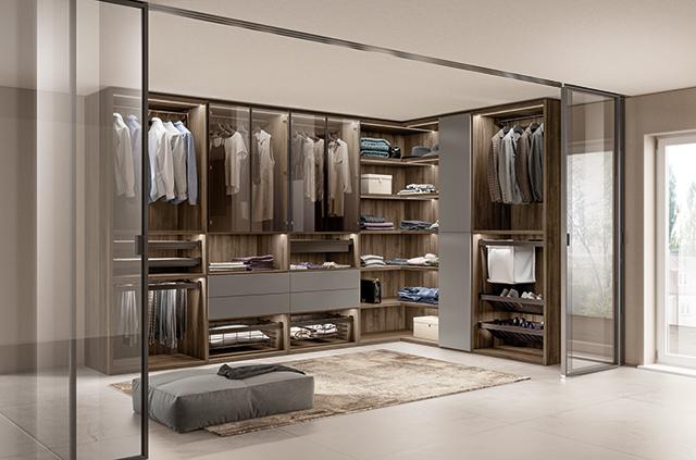 Фото №1 - Первая гардеробная система от Scavolini