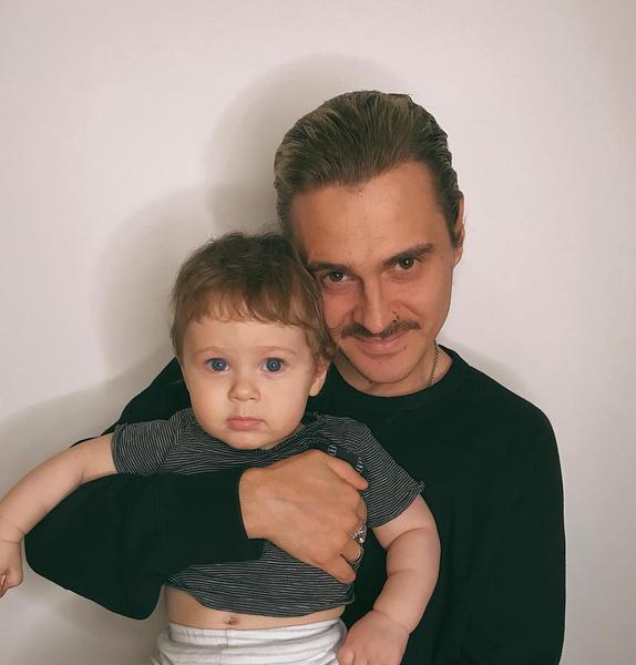 Илья Прусикин с сыном Добрыней