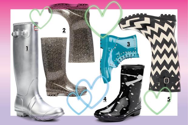 Фото №2 - Топ-10: Резиновая обувь для дождливой осени