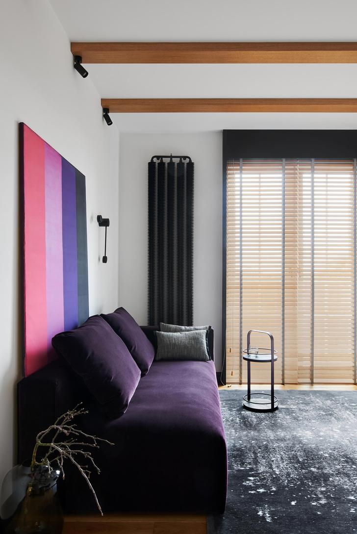 Фото №6 - Фиолетовый цвет в интерьере: 6 стильных идей