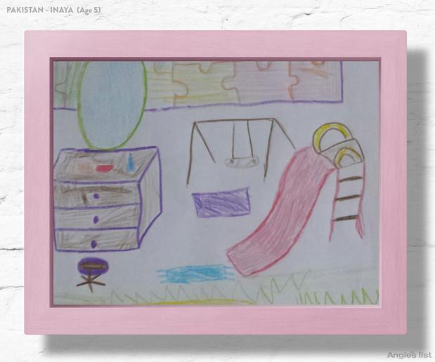Фото №5 - Комната-мечта: 7 детских, созданных по рисункам малышей