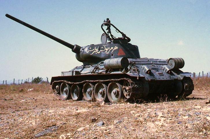 Фото №8 - Трофей из России— легендарный Т-34 на службе вдали от дома