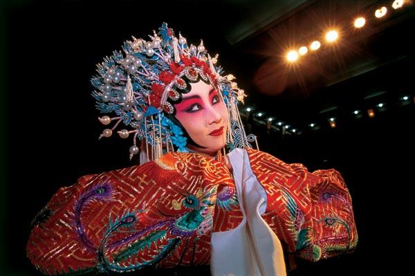 Фото №1 - Маски Пекинской оперы