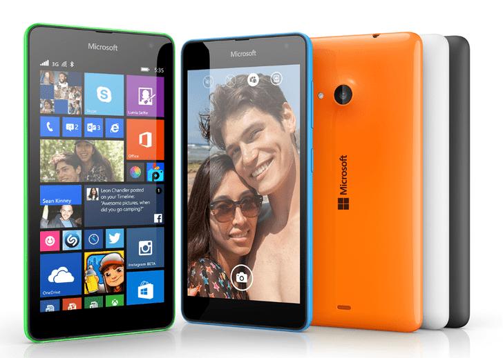 Смартфон Lumia 535, 7 990 руб.