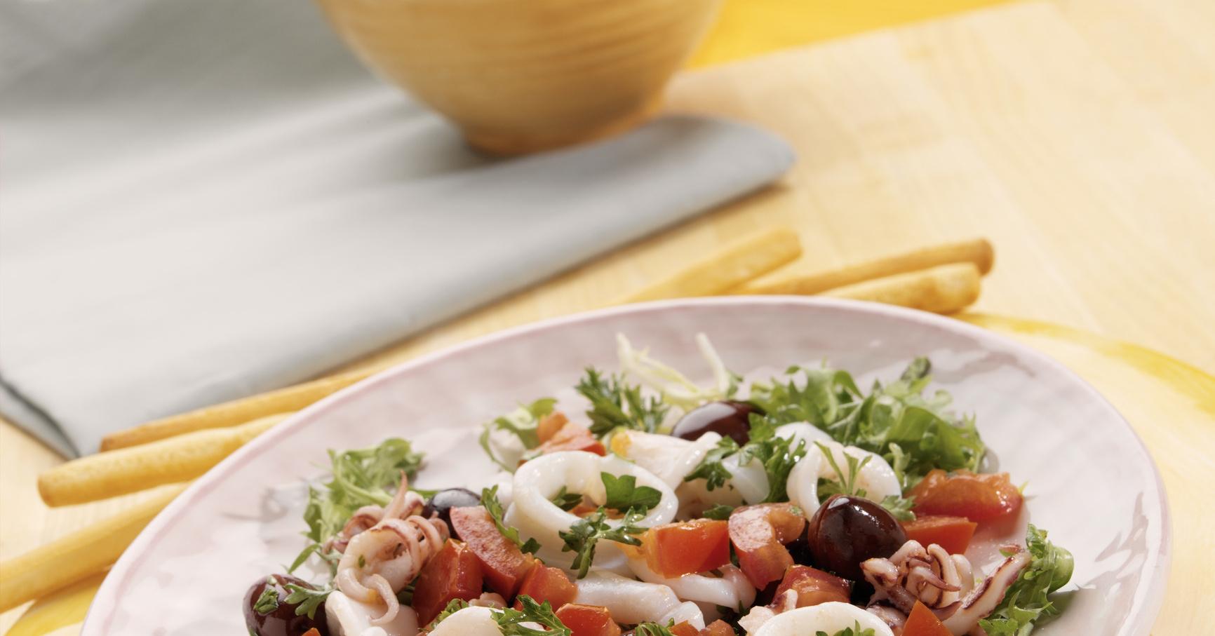 кальмар для похудения рецепты в домашних