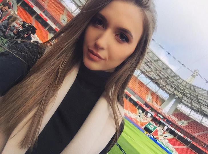 Фото №1 - Самый красивый арбитр в русском футболе ─ Екатерина Костюнина