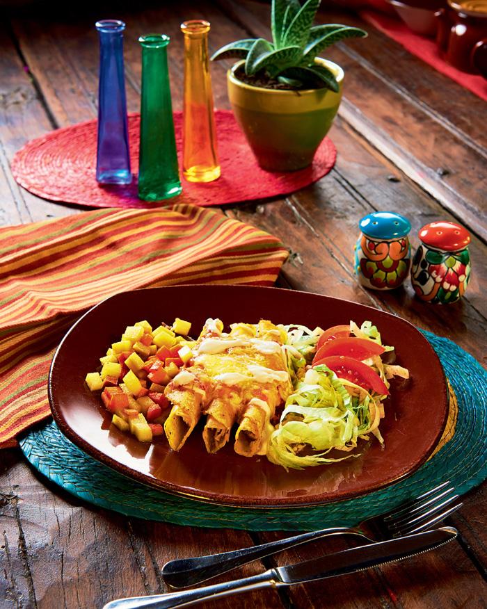 Фото №1 - Энчилада: 10 интересных фактов и рецепт от шеф-повара из Мексики