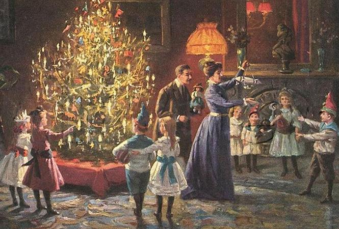 Фото №5 - Как отмечали Рождество в Русской императорской семье
