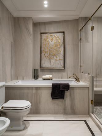 Фото №14 - Московская квартира 182 м² в стиле американской классики