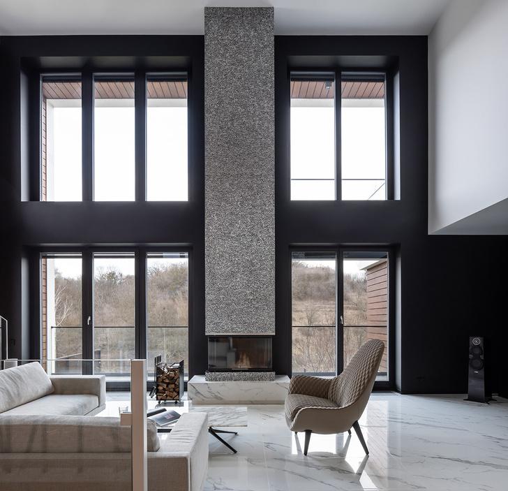 Фото №1 - Трехэтажный особняк по проекту Sergey Makhno Architects в Киеве