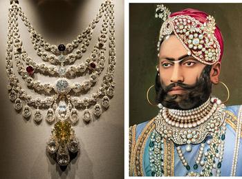 Сокровища индийских князей: как выглядят самые роскошные украшения махараджей