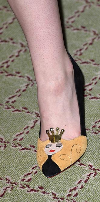 Фото №53 - Обувные бренды звезд, часть 1: Christian Louboutin, Jimmy Choo, Charlotte Olympia