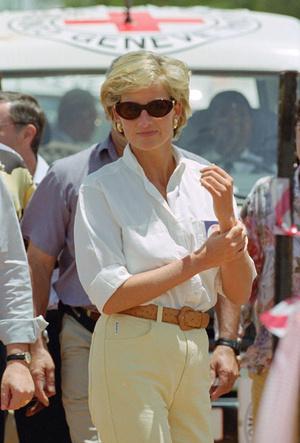 Фото №18 - Любимые солнцезащитные очки принцессы Дианы