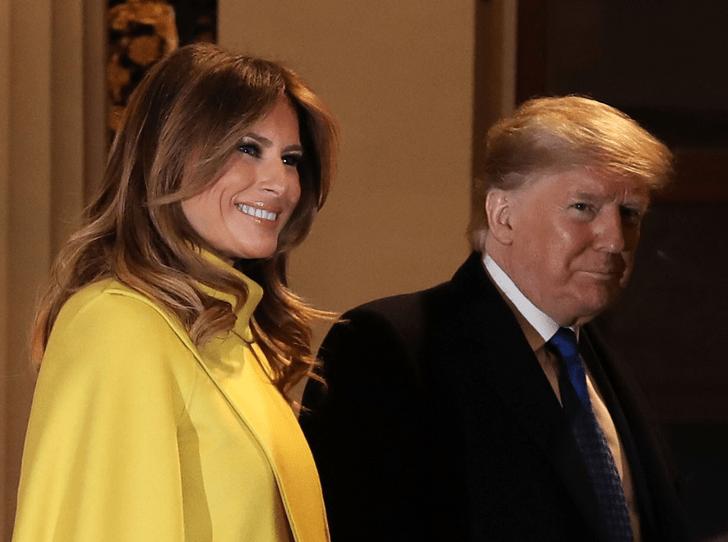 Фото №2 - Развод не за горами: в Сети обсуждают странные заявления Дональда Трампа о Мелании