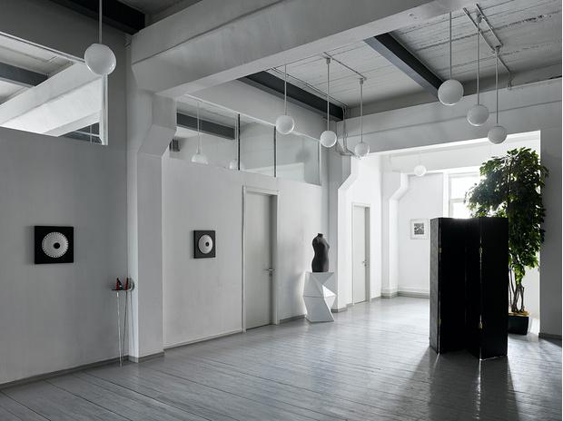 Фото №4 - Черно-белый офис с видом на Москву-реку