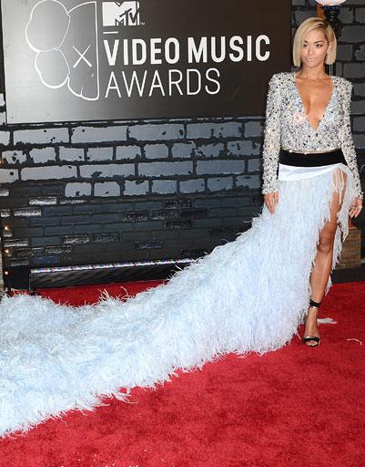 Рита Ора (Rita Ora) на MTV VMA 2013