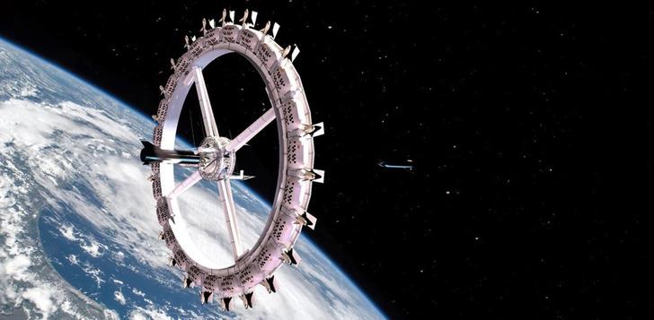 Фото №1 - Каким будет первый космический отель