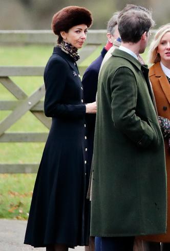 Фото №6 - Стильный образ и встреча с «соперницей»: как прошел первый публичный выход Кембриджей в новом году