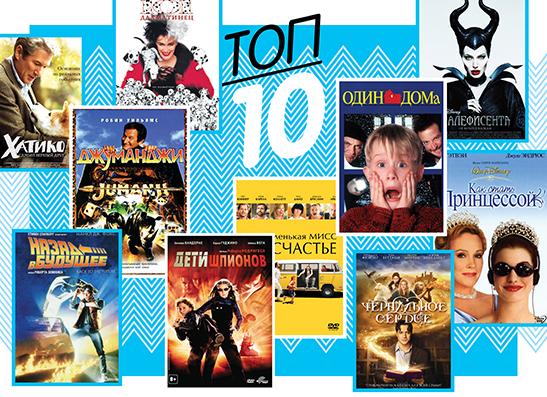 Фото №1 - Топ-10: Семейные фильмы