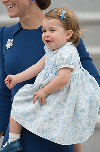 Фото №13 - Принц Джордж, принцесса Шарлотта и Кейт Миддлтон стали звездами канадского тура
