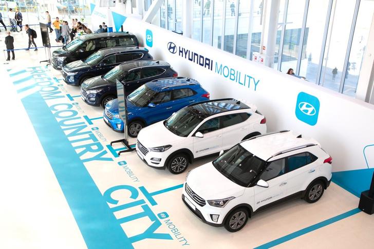 Фото №1 - Hyundai представляет каршеринг на новый лад