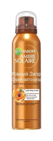 Спрей-автозагар для тела «Ровный загар» Ambre Solaire, GARNIER, 449 рублей