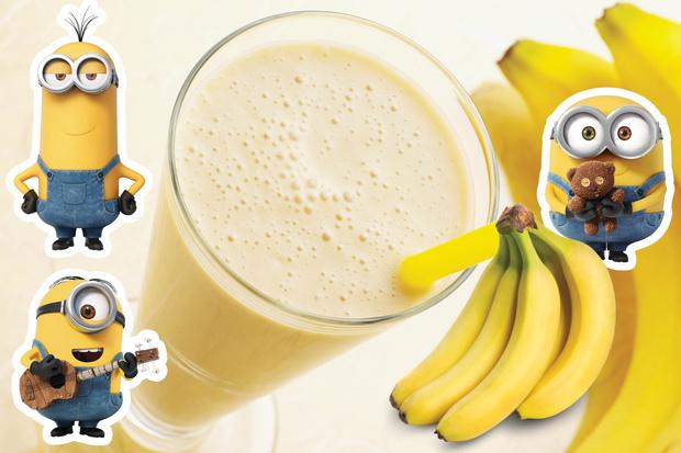 Классический банана шейк
