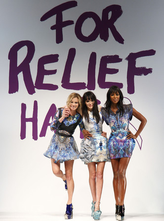 Фото №4 - Fashion for Relief: как Наоми Кэмпбелл сражается за равенство и защищает слабых