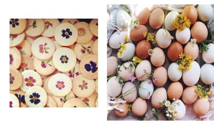 Фото №3 - Фуд-тренд: ванильное печенье со съедобными цветами— лучшее украшение для вашего пикника