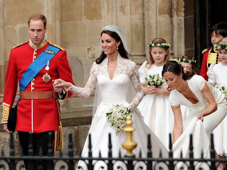 Фото №1 - Самая трогательная деталь свадьбы Уильяма и Кейт, на которую мало кто обратил внимание