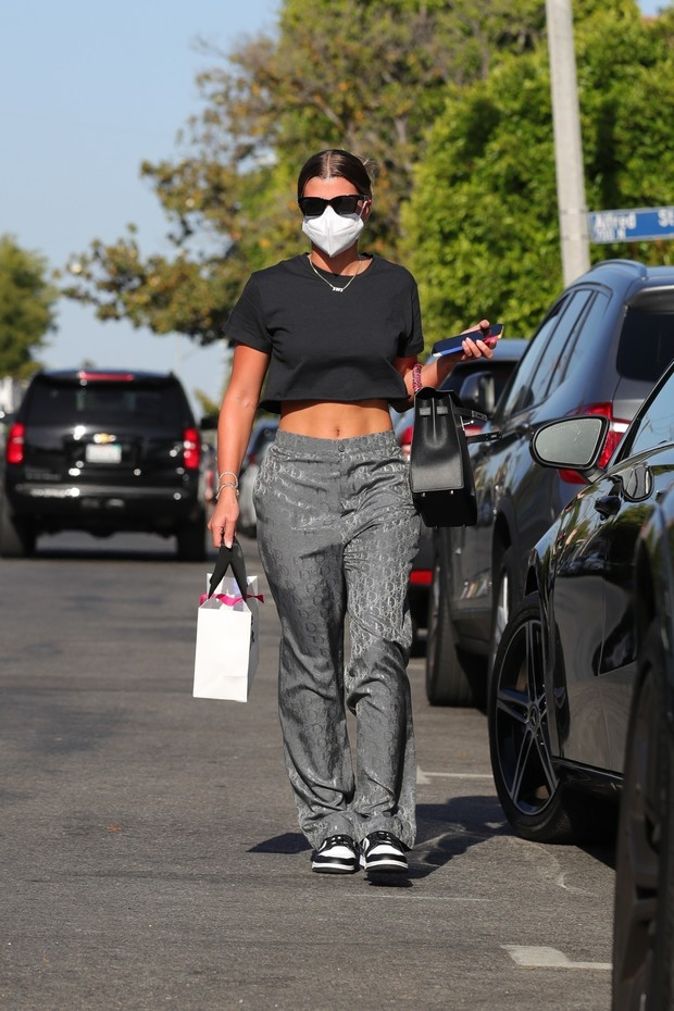 Фото №1 - Уровень мотивации на максимум: София Ричи показала, у кого самый крутой пресс в Голливуде