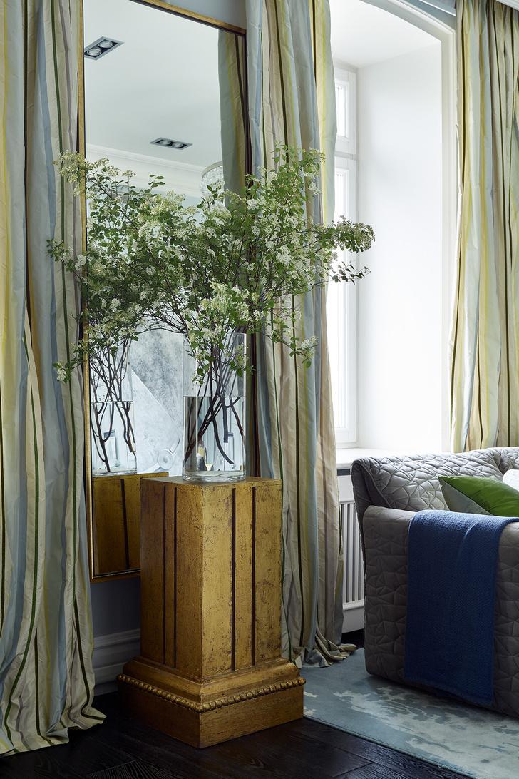 Фото №7 - Двухэтажная квартира 154 м² на Патриарших прудах