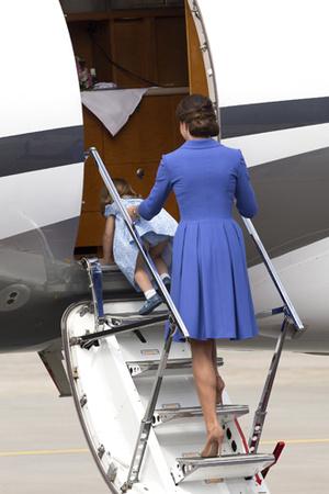 Фото №9 - Мама, ну идем же: принцессе Шарлотте не терпелось покинуть Польшу