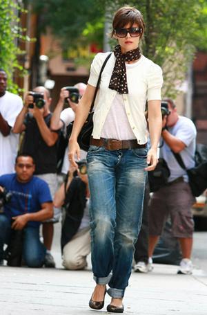 Фото №3 - Было ваше, стало наше: как и с чем носить джинсы-бойфренды