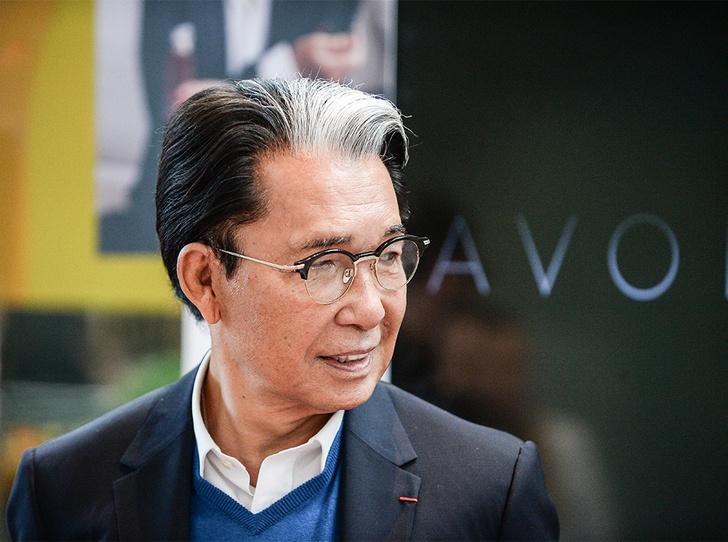 Фото №1 - Кензо Такада: «Я словно рисовал, а полотном была магнолия»