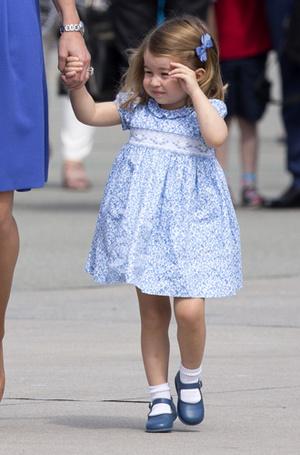 Фото №5 - Мама, ну идем же: принцессе Шарлотте не терпелось покинуть Польшу