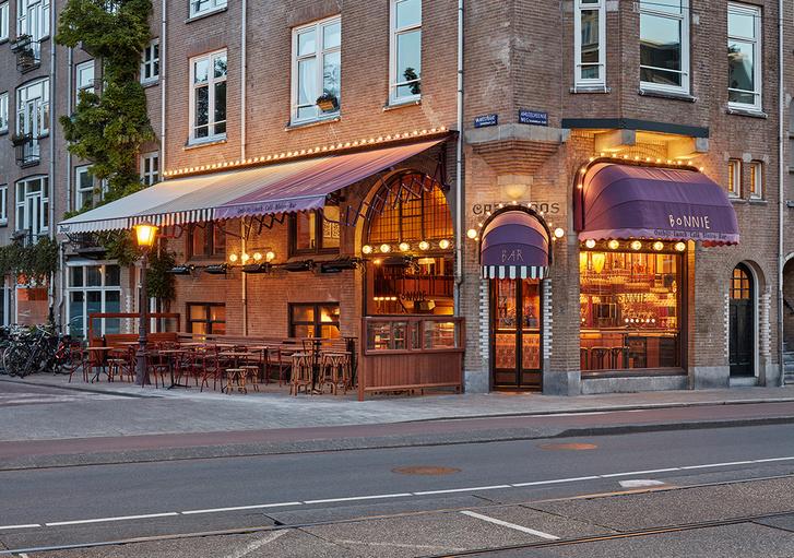 Фото №1 - Бар Bonnie в стиле ретро в Амстердаме