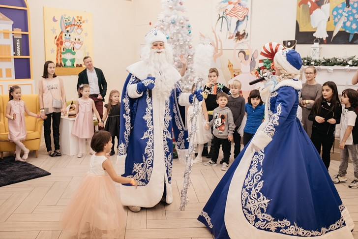 Фото №2 - В Москве прошла традиционная корпоративная ёлка Hearst Shkulev Hearst Shkulev Group