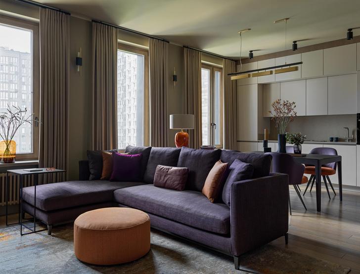 Фото №6 - Все краски осени: уютная московская квартира 70 м²