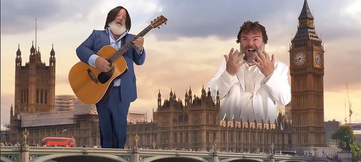 Фото №1 - Комик Джек Блэк исполняет песни The Beatles, и еще 8 клипов недели