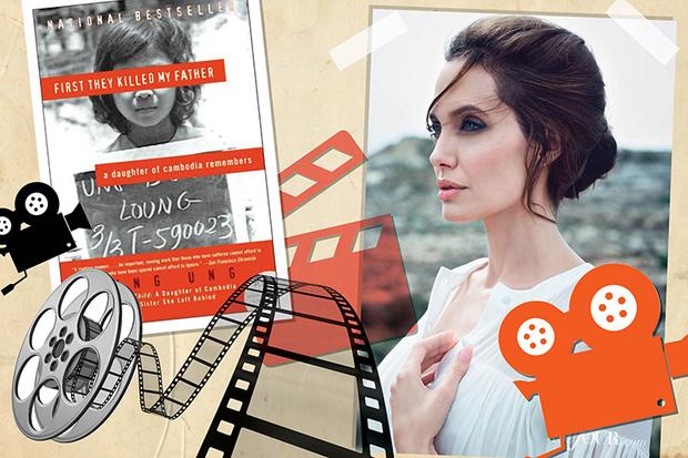 Фото №1 - Анджелина Джоли снимет фильм по книге жертвы войны в Камбодже