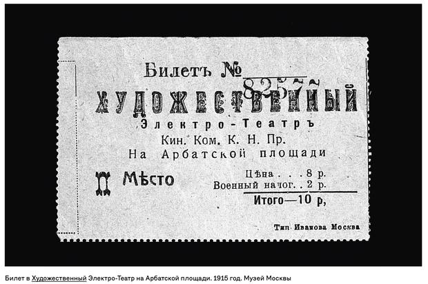 Фото №6 - Выставка «История московских кинотеатров» в Музее Москвы