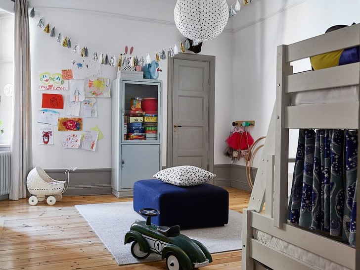 Фото №14 - Квартира в доме начала XX века с печкой в Стокгольме