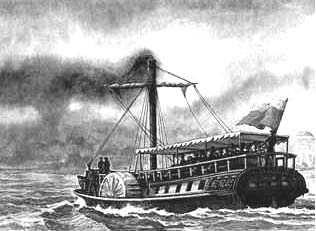 Фото №2 - Кто построил первый пароход?