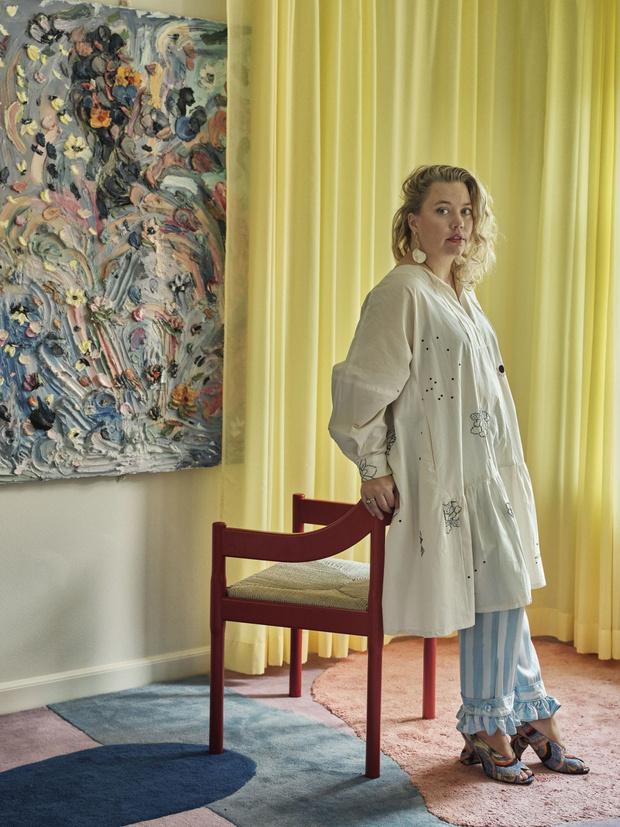Фото №6 - Цвет, экспрессия, максимализм: уютный дом в Копенгагене